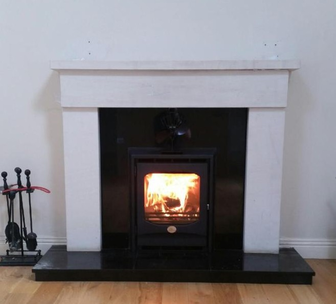 Inis Boffin insert 7kw stove