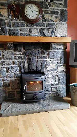 Newman Stoven wood-burner