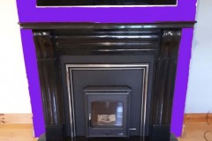 Arklow with black fireplace