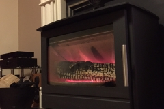 Heta Inspire 55 with half meter log burning