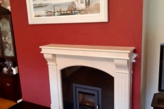 Heta Inspire & Roma fireplace with granite back