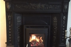 Portland 5kw in cast fireplace