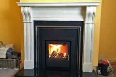 Aarrow i500 with Dublin Corbel fireplace