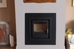 i500 Cassette with granite frame & hearth