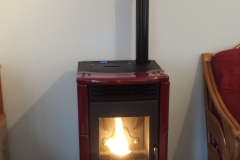 Pellet Lincar Milly with maroon ceramic finish